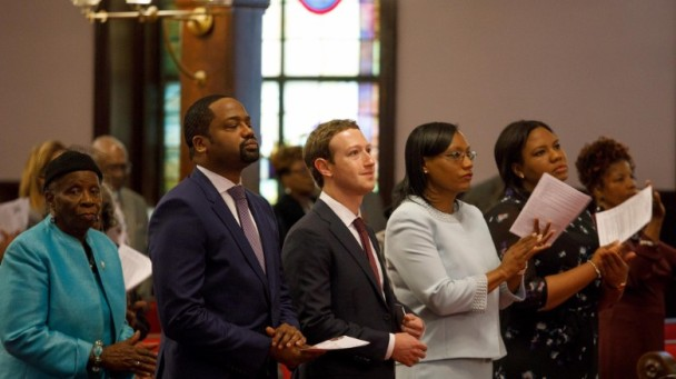 Mark Zuckerberg political signalling